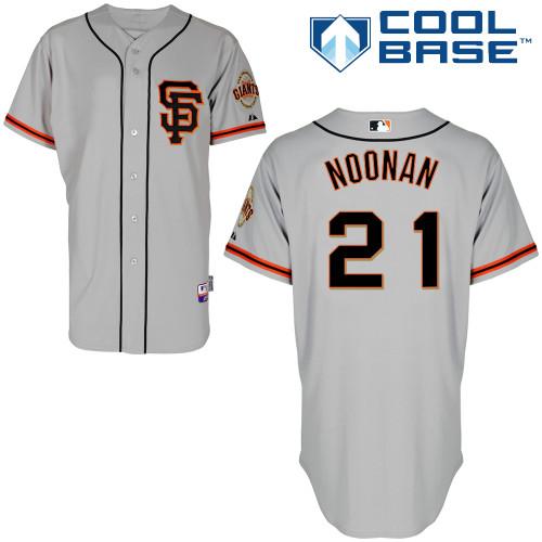 designer fashion 72574 58efb Nick Noonan #21 MLB Jersey-San Francisco Giants Men's ...